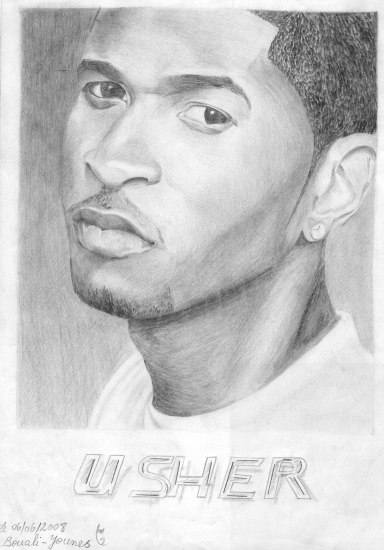 Usher por Yanis_dessin